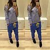Стильные спортивные штаны с мотней (разные цвета), фото 6