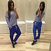 Стильные спортивные штаны с мотней (разные цвета), фото 7