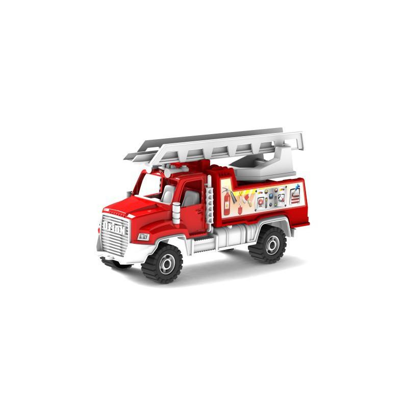 Пожарная детская машина с лестницей