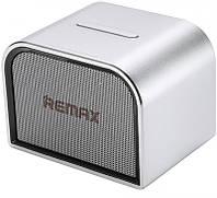 Портативная акустика Remax RB-M8 Mini Desktop Speaker Silver (hub_3456)