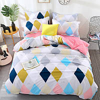 Комплект постельного белья Ромбы (полуторный) Berni, фото 1