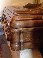 Гроб элитный, EternuM Саркофаг деревянный двухстворчатый