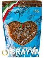 Растворимый кофе NERO AROMA БЕЗ КОФЕИНА (150г)