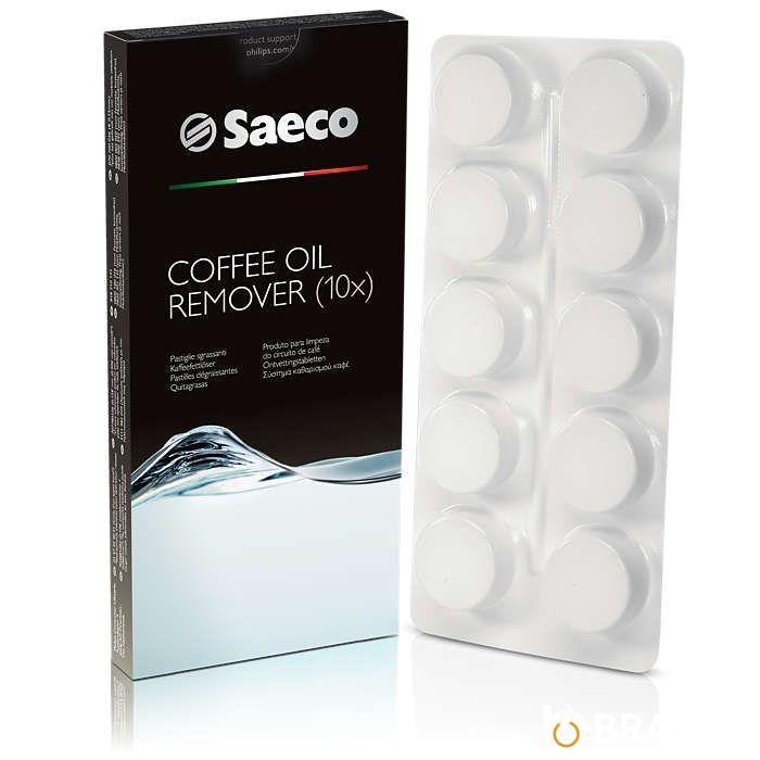 Таблетки для чистки от кофейных масел Saeco