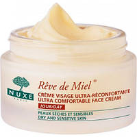 Нюкс Медовая мечта ультра комфорт дневной крем для лица 50 мл (Nuxe Reve de Miel Ultra-Comfortable Face Cream)