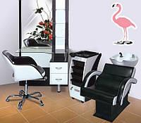 Комплект мебели для парикмахерской Flamingo (Фламинго)