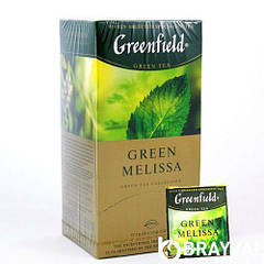 Чай Greenfield Green Melissa 25 пакетиков