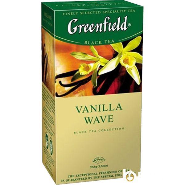 Чай Greenfield Vanilla Wave 25 пакетиков