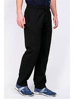 Спорт штаны мужские, с манжетом  и без  манжета, цвета черный темно-синие темно-серые,Размер46 4850 52 54