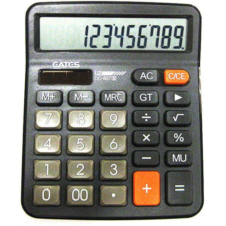 Калькулятор EATES DC-837S