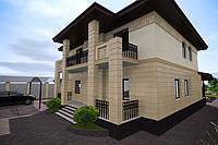 Проект дома особняка в классическом стиле