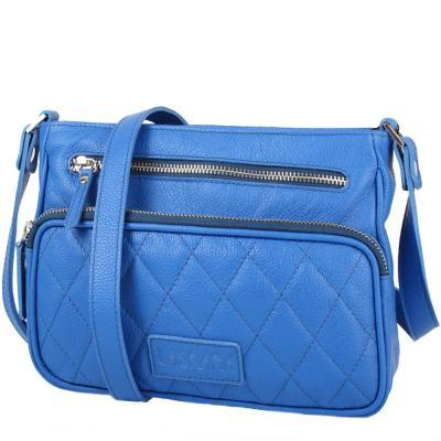 e7eb63d80ed7 Сумка-клатч Laskara Женская кожаная сумка LASKARA (ЛАСКАРА) LK-DS256-blue