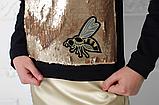 Кофта с пайетками для девочки тм Моне р-р 146, фото 2