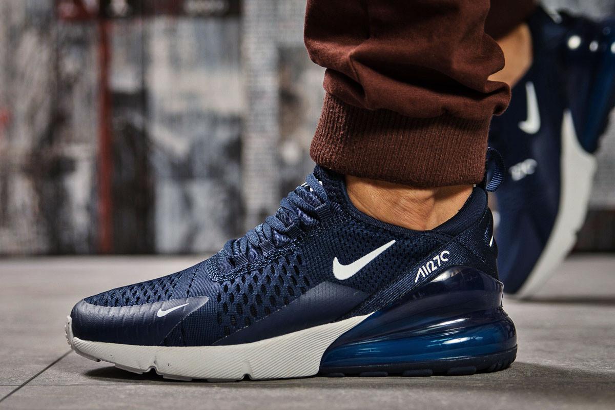 Кроссовки мужские Nike Air 270, темно-синие (14835) размеры в наличии ►(нет на складе)