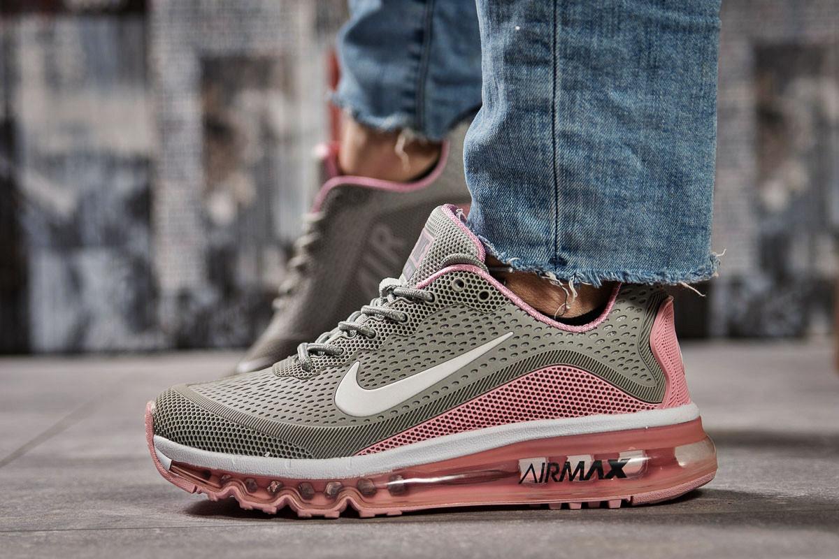 Кроссовки женские Nike Air Max, серые (15502) размеры в наличии ►(нет на складе)