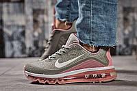 Кроссовки женские Nike Air Max, серые (15502) размеры в наличии ►(нет на складе), фото 1