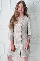 Гламурне пальто для дівчинки Моне р-ри 158,164