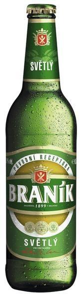 Чешское пиво Браник Вичепни (Braník 10 světlé výčepní) светлое 0,5 л