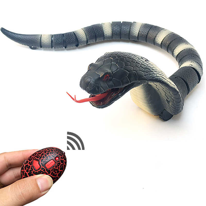 Животное на р/у 8808-A (Синяя) змея,пульт,движ, в коробке ,39*3,5*8см (Серая)