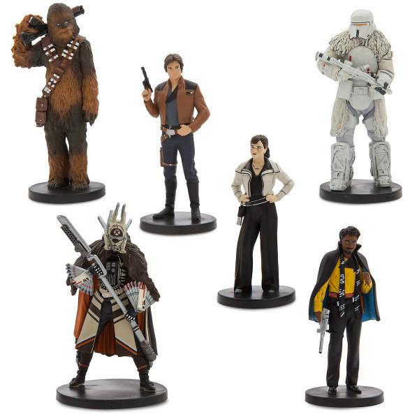 Disney Игровой набор с фигурками Хан Соло Звёздные Войны Solo A Star Wars Story Han Solo Figure Play Set 6 piece