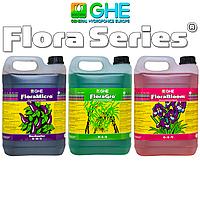 Удобрение GHE Flora Series Micro+Gro+Bloom 3x5L HW