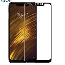 Закаленное защитное 5D стекло ПОЛНАЯ ПРОКЛЕЙКА (на весь экран) для Xiaomi Pocophone F1