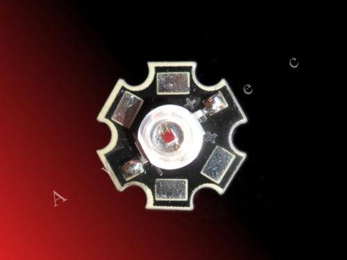 3W 650-660nm фитодиоды красные