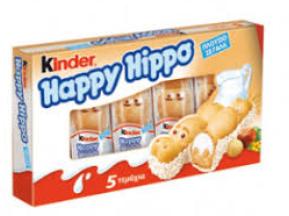 Конфеты Kinder Happy Hippo 5X20.7 g