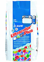 Затирка  для швов  плитки 2 кг ULTRACOLOR PLUS MAPEI (100-белый)