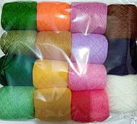 Комплект нитки для вышивания цветной 2