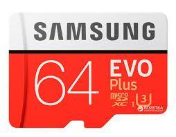 Карта памяти Samsung UHS-3 64GB Micro SDXC Memory Card - CHESTNUT RED 64GB
