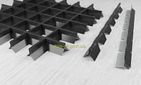 Пирамидальное грильято потолок,  ячейка 60х60 мм , цвет белый RAL 9003, фото 1