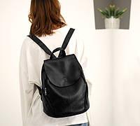 Модный женский рюкзак(черный)