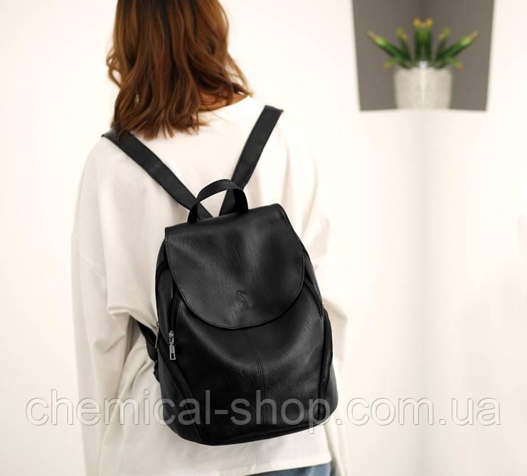 57882a2e0bac Модный женский рюкзак(черный) - Интернет-магазин выгодных цен