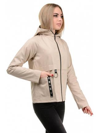 Куртка демисезонная (беж), фото 2