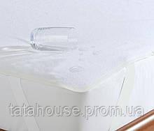 Наматрасник в детскую кроватку водонепроницаемый AQUA STOP с резинками по углам, 60*120