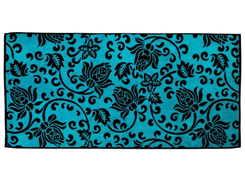 Полотенце махровое 50*90 PLAZA синий 100% хлопка (шт.)