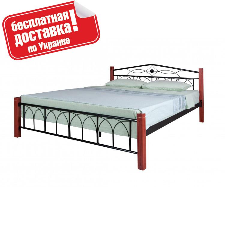 """Кровать металлическая двуспальная """"Элизабет"""" от Melbi"""