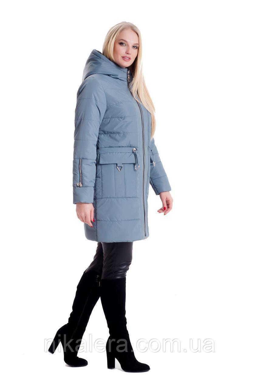 Женская стильная демисезонная куртка рр 44-60