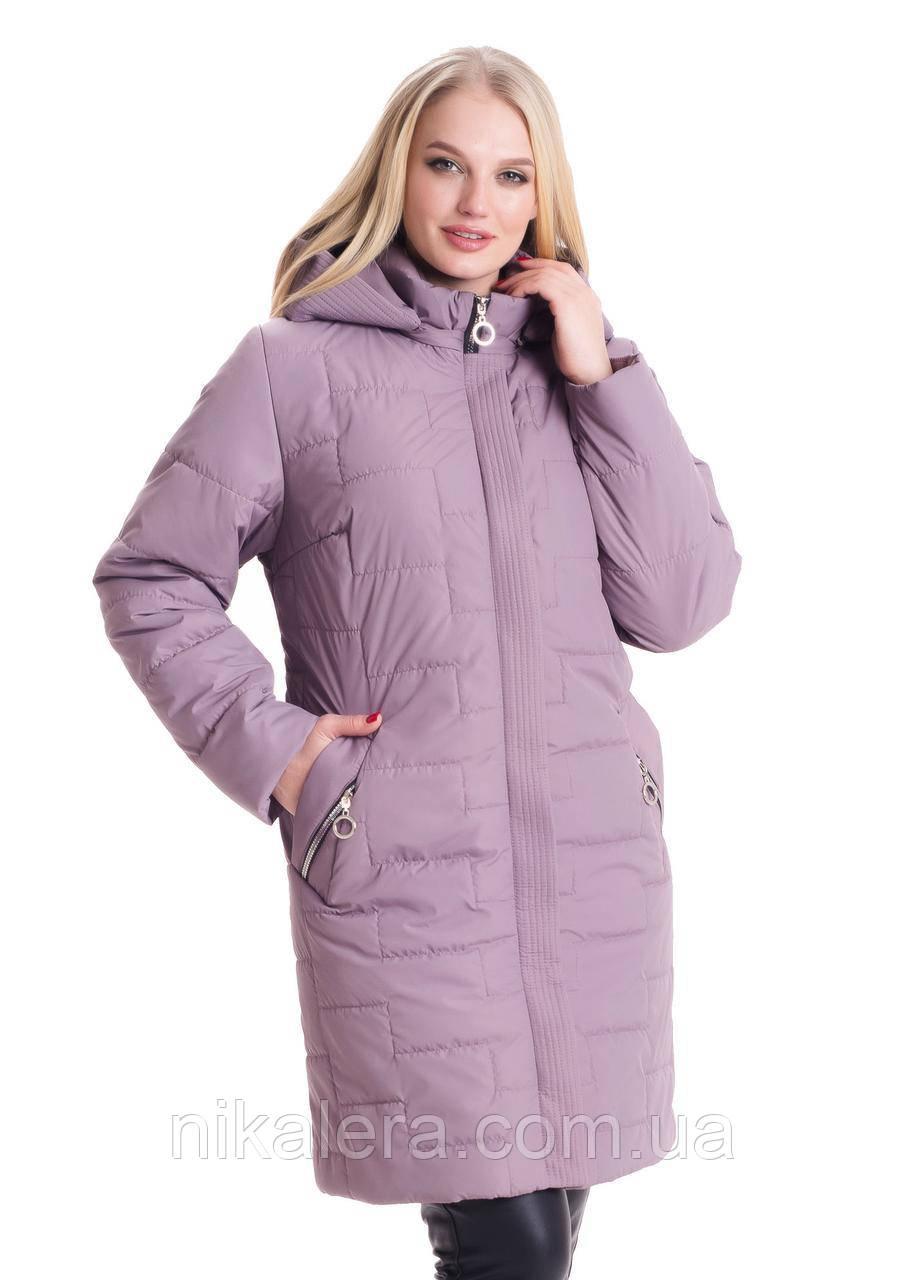 Женская куртка большие размеры рр 52-70
