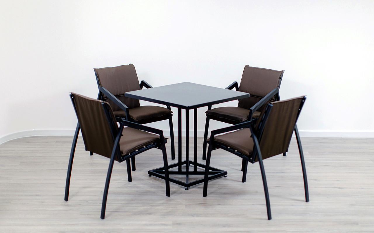 "Комплект мебели для кафе Микс-Лайн ""Парма Люкс"" Венге"