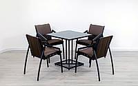 """Комплект мебели для кафе Микс-Лайн """"Парма Люкс"""" Венге, фото 1"""