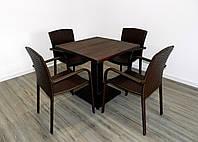 """Мебель для кафе """"Тетра Люкс"""" (Комплект 1+4)"""