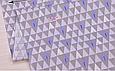 Сатин (хлопковая ткань) на серых треугольниках елки, фото 2