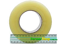 Скотч (500 м х 45 мм, 40 мкм) - прозрачный, фото 1