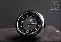 Часы кварцевые в автомобиль с логотипом АВТО премиум класса корпус МЕТАЛЛИЧЕСКИЙ