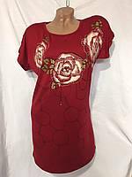 Женская котоновая туника НОРМА  оптом со склад-магазина в Одессе., фото 1