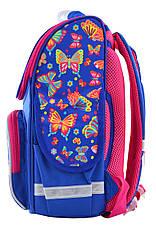 Рюкзак SMART 555908 каркасный PG-11 Butterfly dance, фото 2