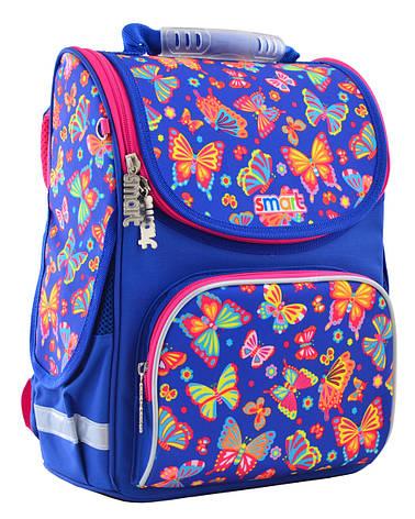 Рюкзак школьный  SMART 555908 каркасный PG-11 Butterfly dance, фото 2