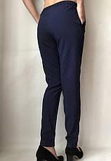 Женские летние штаны N°17 горох  (БАТАЛ) , фото 3